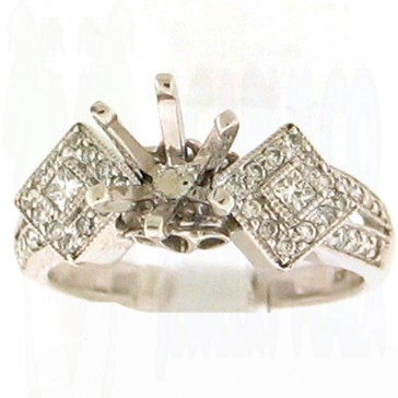 0.43ct Engagement Diamond Ring
