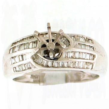 0.49ct Engagement Diamond Ring