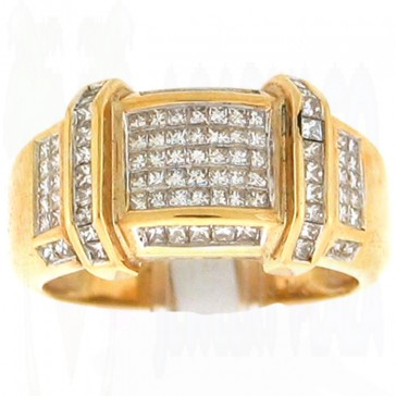 1.09ct Men's Diamond Ring
