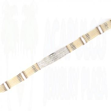 6.86ct Men's Diamond Bracelet