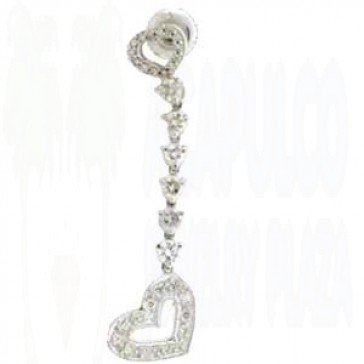 1.10ct Lady's Diamond Earrings