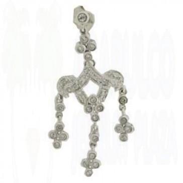 0.60ct Lady's Diamond Earrings