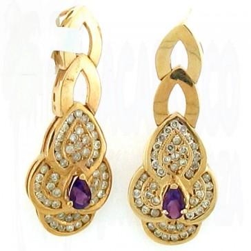 3.00ct Ladies Gemstone Earrings
