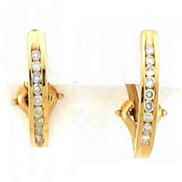 0.50ct Ladies Diamond Earrings