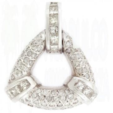 1.24ct Lady's Diamond Pendant