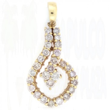 1.00ct Lady's Diamond Pendant