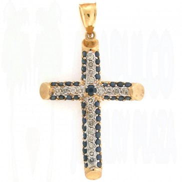 2.25ct Men's Diamond Cross