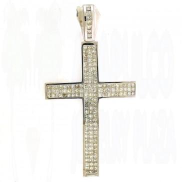 12.50ct Men's Diamond Cross