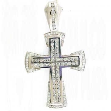 5.90ct Men's Diamond Cross