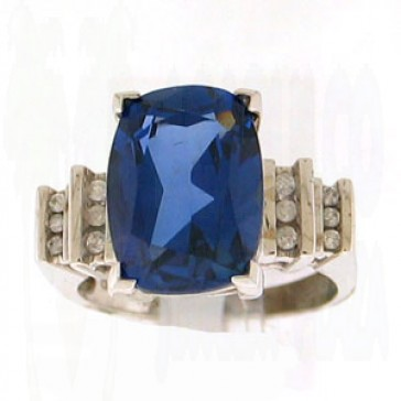 10.35ct Lady's Gemstones Ring
