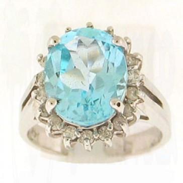 6.61ct Lady's Gemstones Ring