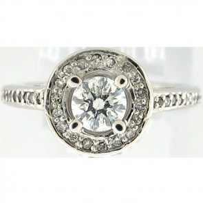 1.05Ctw Ladies Engagement Diamond Ring