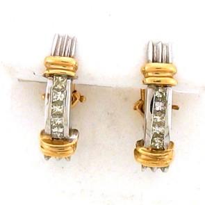 0.75ct Diamond Earrings