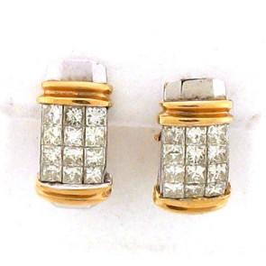 2.85ct Diamond Earrings