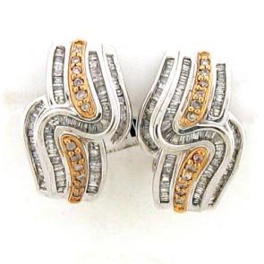 1.10ct Diamond Earrings