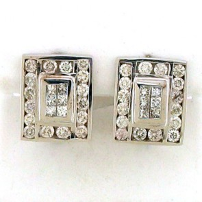 2.50ct Diamond Earrings