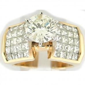 2.65Ctw Ladies Engagement Diamond Ring