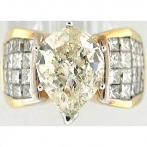 5.00Ctw Ladies Engagement Diamond Ring