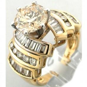 5.23Ctw Ladies Engagement Diamond Ring