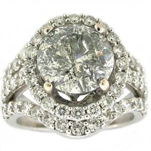 7.00ctw Ladies Engagement Diamong Ring