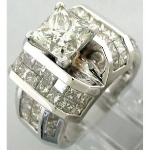 4.98Ctw Ladies Engagemet Diamond Ring