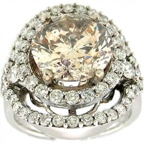 7.25Ctw Ladies Engagement Diamond Ring
