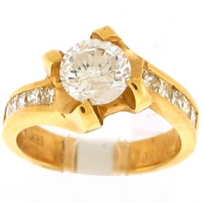 2.25ct Engagement Diamond Ring