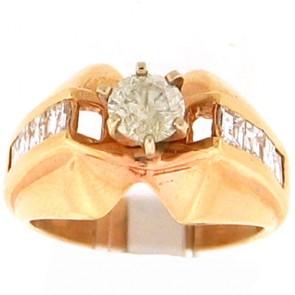 1.35ct Engagement Diamond Ring