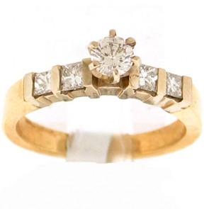 0.65ct Engagement Diamond Ring