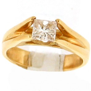 0.76ct Solitaire Engagement Ring