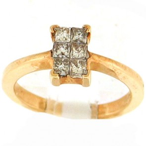 0.55ct Solitaire Engagement Ring