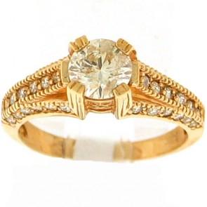 1.55ct Engagement Diamond Ring