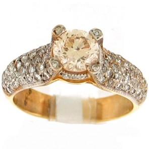 2.07ct Engagement Diamond Ring