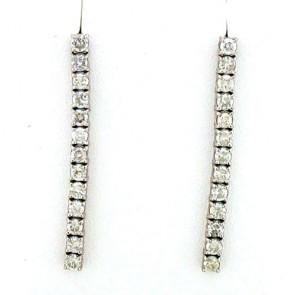 2.07ct Diamond Earrings