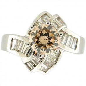 2.30Ctw Ladies Engagement Diamond Ring