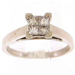 0.70ct Solitaire Engagement Ring