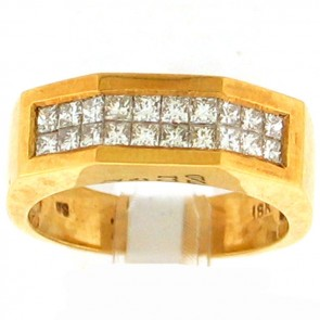 0.78ct Men's Diamond Ring