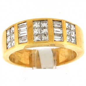 2.10ct Men's Diamond Ring