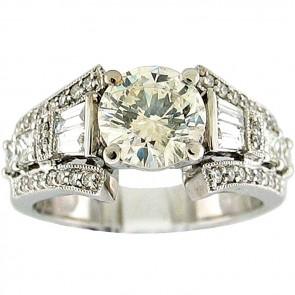 2.38Ctw Ladies Engagement Diamond Ring