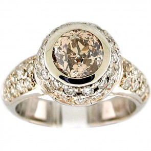 2.63Ctw  Ladies Engagement Diamond Ring