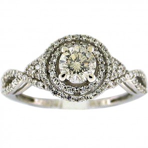 1.20Ctw Ladies Engagement Diamond Ring