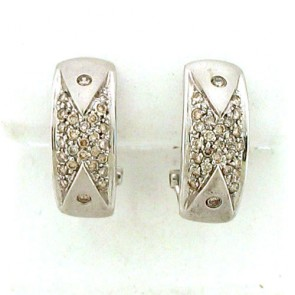 0.50ct Ladies Diamond Earrings 14K
