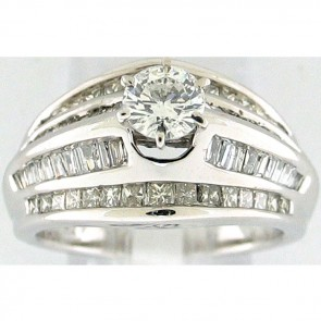 2.03Ctw Ladies Engagement Diamond Ring
