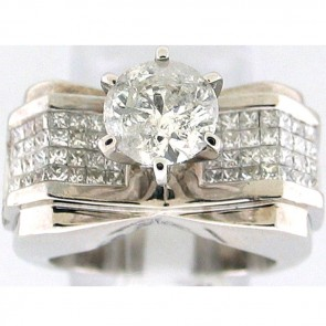 3.13Ctw Ladies Engagement Diamond Ring