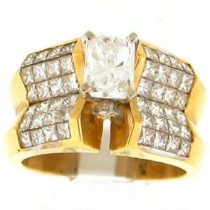 3.95ct Engagement Diamond Ring