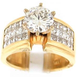 2.87ct Engagement Diamond Ring