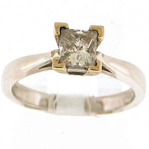 0.85ct Solitaire Engagement Ring
