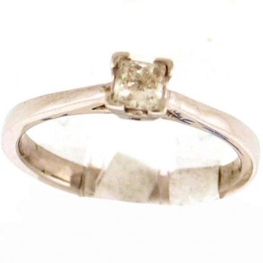 0.39ct Solitaire Engagement Ring