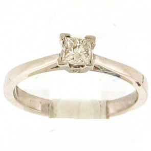 0.42ct Solitaire Engagement Ring