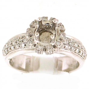 0.65ct Engagement Diamond Ring